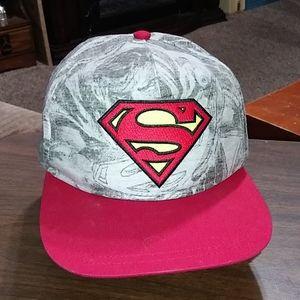 Superman Hat Baseball Cap adjustable